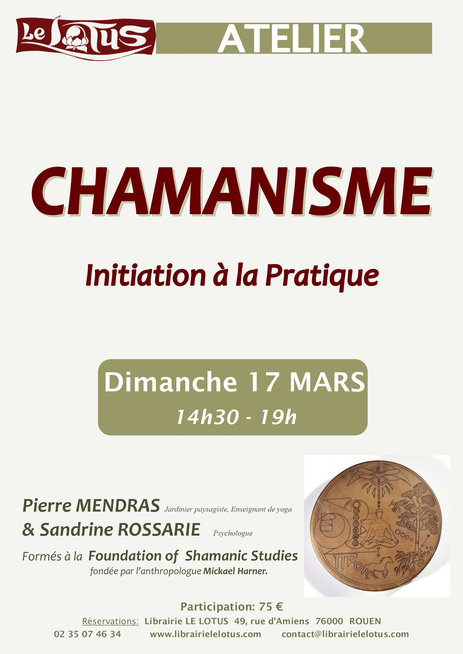 ATELIER - CHAMANISME - INITIATION