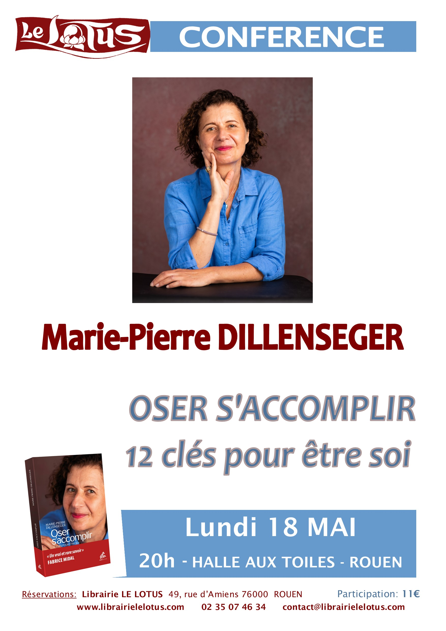 CONFERENCE - M-P DILLENSEGER - OSER S'ACCOMPLIR
