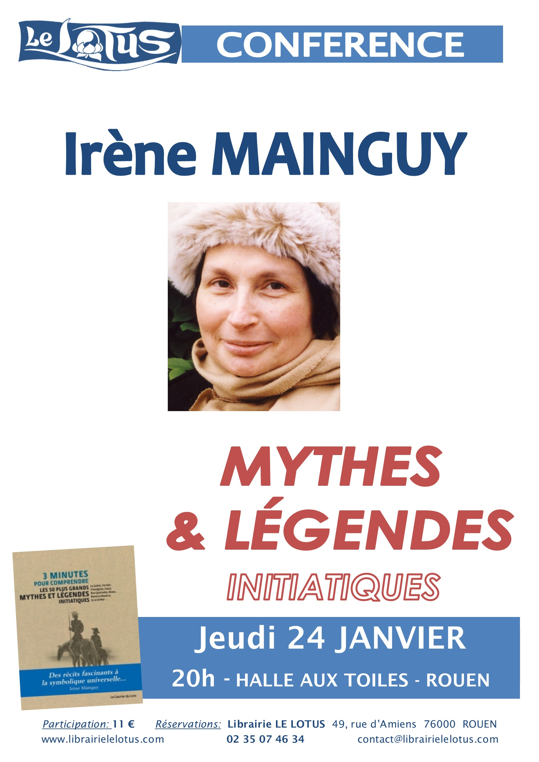 CONFERENCE - MYTHES & LEGENDES INITIATIQUES